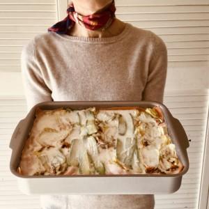 Lasagne rosse con zucchine